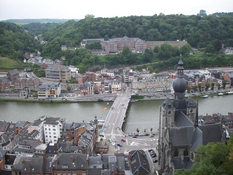 View from the citadel of Dinant. Belgium.