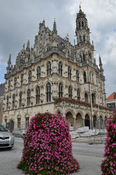Town Hall, Oudenaarde, photo: PM