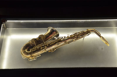 Museum of the creator of the saxophone Adolf Sax in Dinant. Belgium.