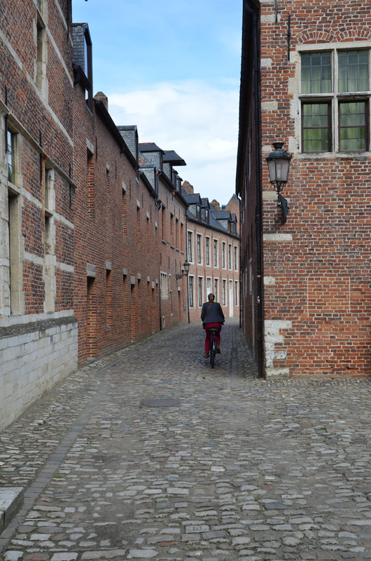 Big  beguinage  in Leuven. Belgium.