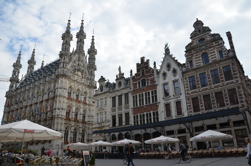 The city of Leuven in Belgium.