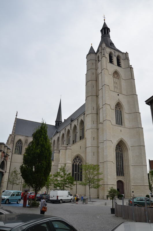 Our Lady across the Dyle Church in Mechelen. Belgium.